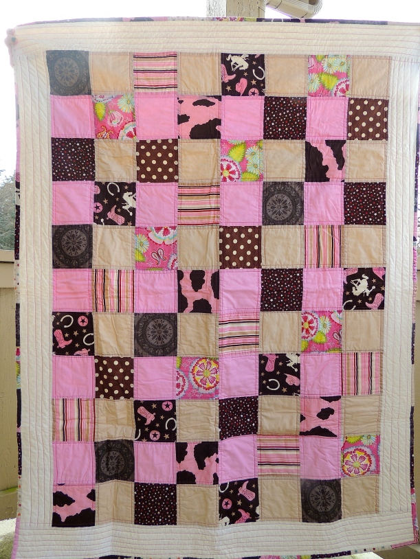 This quilt was so fun and easy to make, love the colors!